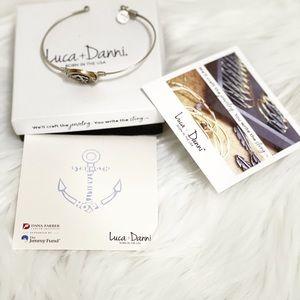 Luca + Danni Strength Hope Anchor Bracelet Cancer